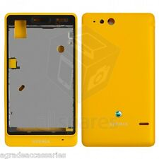 100% Brand New Sony Ericsson Xperia ST27i Xperia Go Yellow Full Housing Body