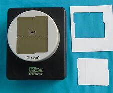 "McGill Craftivity Punch Mini Pocket Folder File 1-7/8"" x 1-3/16"""