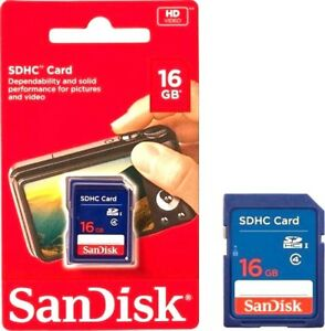 New-SanDisk-16GB-SD-Card-SDHC-Memory-Card-Class-4-16-GB-For-Digital-Cameras