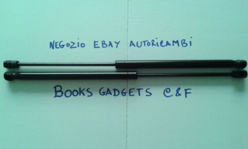 2 PISTONI PISTONCINI COFANO ANTERIORE MERCEDES CLASSE C BN//SW 5.2000/>12.2006
