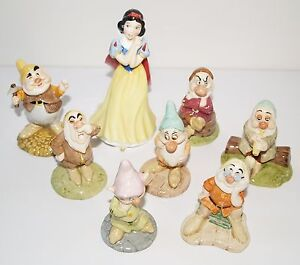 Royal-Doulton-Walt-Disney-Classics-Collection-Snow-White-amp-7-Seven-Dwarfs-Dopey