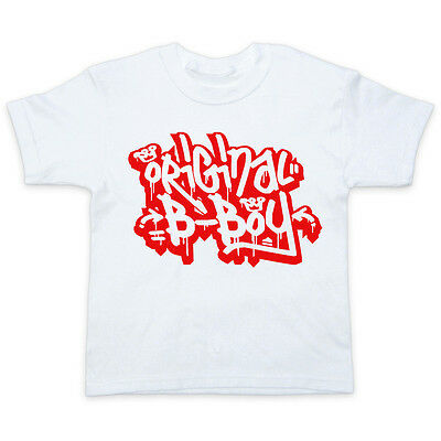 3-15 anni youth t-shirt tee RAP HIP HOP ORIGINALE B-Boy Graffiti-Ragazzi
