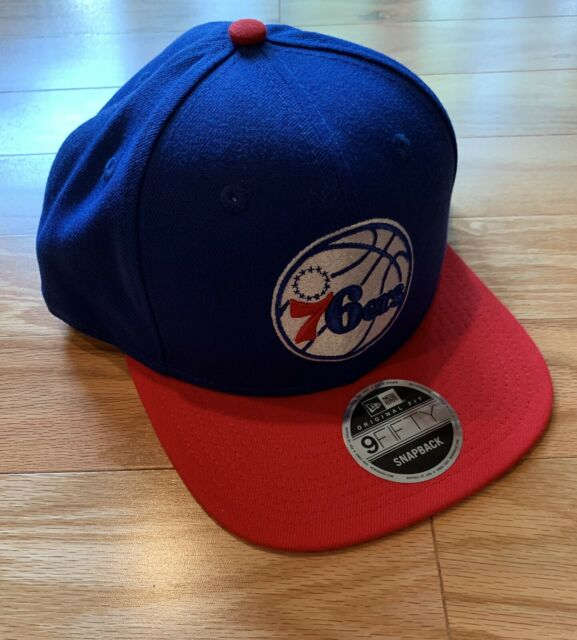 newest collection 21093 bbe1a Philadelphia 76ers New Era 9FIFTY NBA Adjustable Snapback Hat Cap 950 Sixers