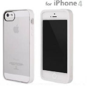 Griffin-Reveal-Frame-for-Apple-iPhone-4G-4S-Slim-Fit-Case-White-CLEAR