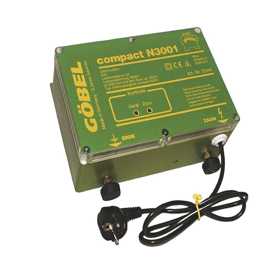 Compact N 3001, dispositivo di rete per Recinzione Pascolo