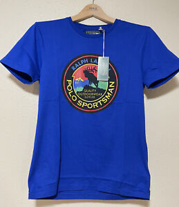 Polo Ralph Lauren Men's Polo Sportman T Shirt Sz Small