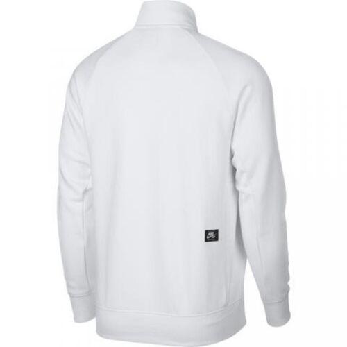 Poche Haut Hz M zip 2 Faux Kangourou Pull Gfx Sb 1 Nike Blanc zT8w6z