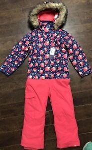 4312874ae1c Details about Roxy Little Girls' Paradise Jumpsuit Elmo Sesame Street Ski  Snow Winter T 6/7