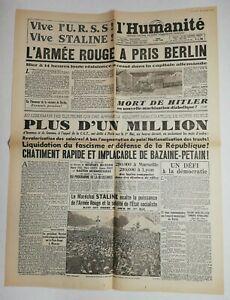 N670-La-Une-Du-Journal-L-039-humanite-3-mai-1945-l-039-armee-rouge-a-pris-Berlin