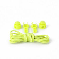 Curly Elastic Shoe Laces No Tie Twister Coil Yellow