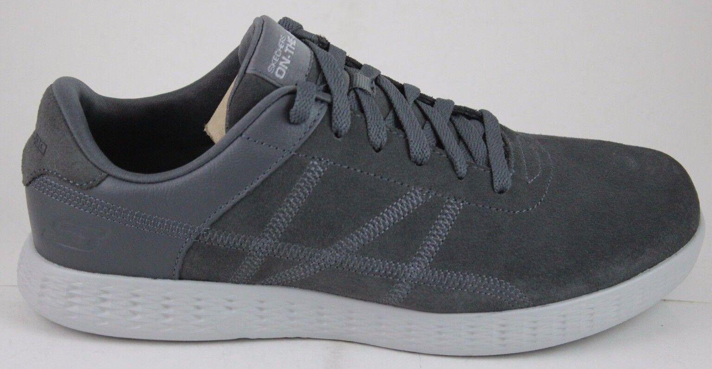 Skechers Men's On-The-Go Glide-SHARP 53779 Charcoal Memory Foam New In Box