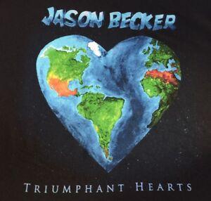 Jason-Becker-TRIUMPHANT-HEARTS-Music-T-Shirt-MEN-Black