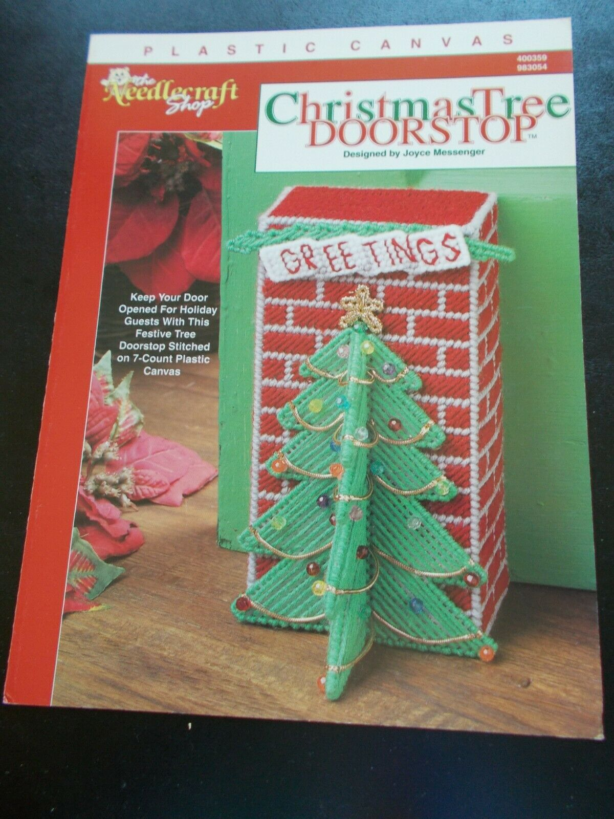 Christmas Trees for Sale House Fence Sign Annie/'s Plastic Canvas Pattern Leaflet