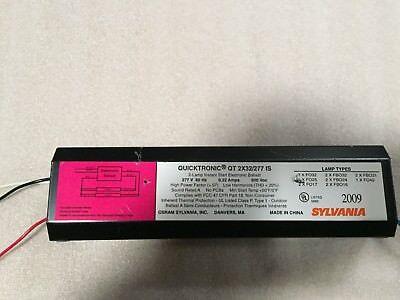 SYLVANIA QT2X32//277 IS-SC Instant Start Fluorescent 277-Volt Ballast 277v