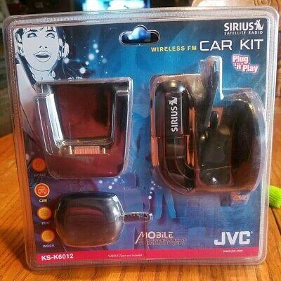 JVC KS-K6012 Wireless FM Car Kit for the KT-SR2000 Sirius Satellite Radio Receiver