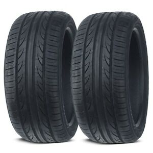 2 New Lionhart LH-503 245/45ZR18 100W XL All Season High Performance Tires