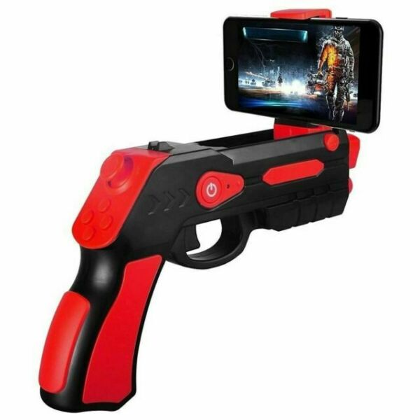 Blast AR Pro for iPhone Android Augmented Reality Gun