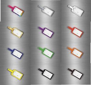 Autocollant sticker etiquette valise bagage nom avion train voyage ... 97db3264b09