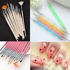 5/15pcs Set Nail Art Paint Dot Draw Pen Brush for UV Gel DIY decoration Tool #