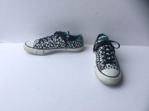 o blanco negro en con Star Eu Zapatillas de 6 Uk Ox tama 39 All animal deporte Low Converse y estampado qZPpZO0g
