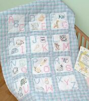 Abc's Quilt Block Set Hand Embroidery Pattern, From Jack Dempsey Inc.
