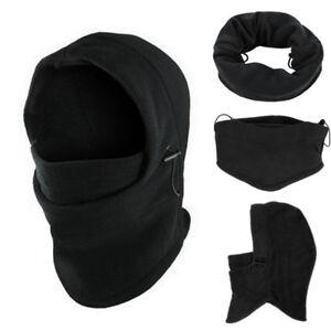 e8bd74a4b40 Mne s 6 in1 Neck Balaclava Winter Face Hat Fleece Hood Ski Mask Warm ...