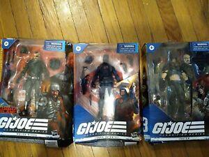 G.I. Joe Classified Cobra Island Target Figure Lot Bludd Infantry Zartan Damaged