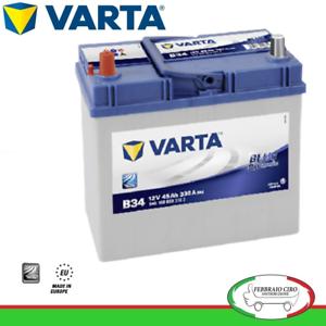 Batteria-Avviamento-Batteria-Varta-45Ah-12V-Blue-Dynamic-B34-545-158-033