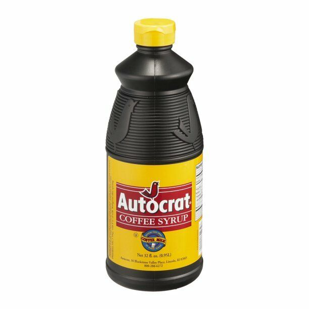 Autocrat Coffee Coffee Syrup 32 Oz Rhode Island Famous New England Classic Drink