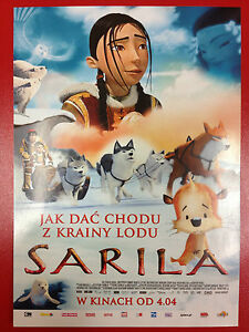 Nancy Florence Savard - THE LEGEND OF SARILA - Polish promo FLYER - Gdynia, Polska - Nancy Florence Savard - THE LEGEND OF SARILA - Polish promo FLYER - Gdynia, Polska