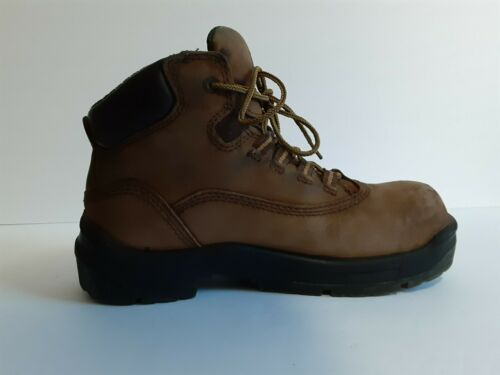 Women's Red Wing Steel Toe Boots 2340, Brown, Size