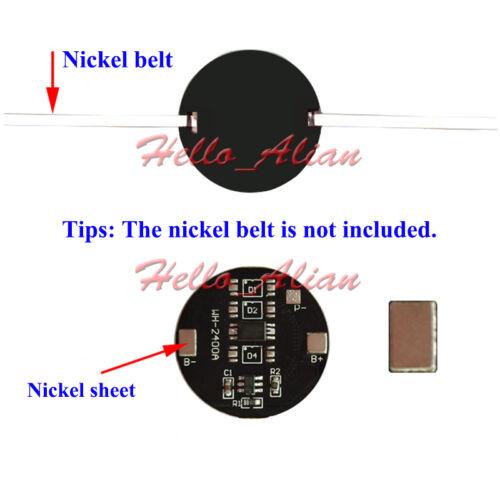 5A 3.2V placa de circuito impreso placa de circuito de protección para la vida 18650 LiFePO 4 Batería Celular 1S