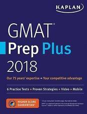 GMAT PREMIER 2018 + ONLINE + VIDEOS + MOBILE - KAPLAN TEST PREP (COR) - NEW PAPE