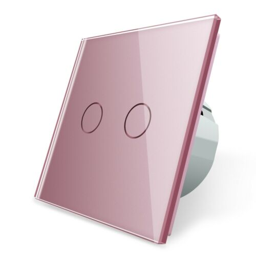 Livolo Rose série Interrupteur Prises glasblenden Touch pour chambre enfant