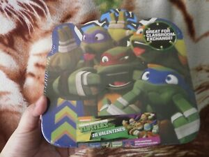CLOSEOUT-SALE-Imported-From-USA-Ninja-Turtles-Valentines-Notes-2