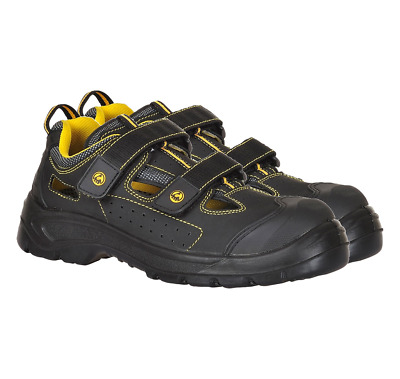 Portwest Tagus Work Safety Sandal Shoes Trainers Boots Non Metallic Toe Cap FC04