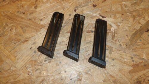 S166 3-Nova 10rd Revistas Para Springfield XDM-9-9mm Mags Clipes