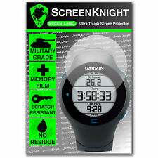 ScreenKnight Garmin Forerunner 610 SCREEN PROTECTOR invisible military shield