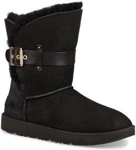 cf11039a69b Women's Ugg Australia JAYLYN strap/metal buckle Twinface boot ...