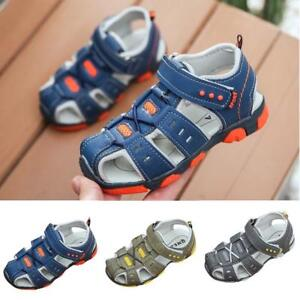 Boys-Girls-Children-Kids-Shoes-Closed-Toe-Summer-Beach-Sandals-Shoes-Sneakers
