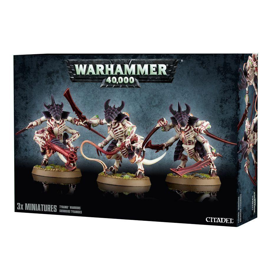 Warhammer 40k NEW Tyranid Warriors NIB Free Shipping