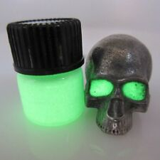 1ml Green Glow in the Dark Gel Paint for Paracord / Lanyard Beads