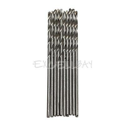 10PCS 1mm Micro HSS Twist Drilling Auger bit for Electrical Drill New