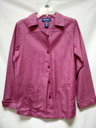 lang X lille Denim blazercoat lille lilla violet linje en Co jakke bred Yqq5U