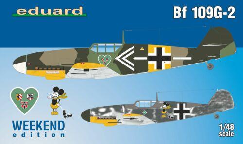 Eduard Plastic Kits 84148-1:48 Bf 109G-2  Weekend Edition Neu