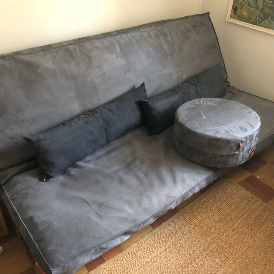 Futon, Blue Moon, b: 140 l: 200 h: 35