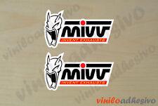 PEGATINA STICKER VINILO Mivv Invent Exhaust autocollant aufkleber adesivi