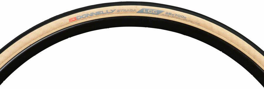 Donnelly Strada Lgg Tire 700x28c Pieghevole Copertoncino 60tpi NeroMarronecino