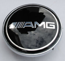 MERCEDES AMG SPORT BONNET BADGE - 57MM NEW - C E S CLK AMG CLASS EMBLEM