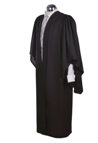 Fully Fluted Bachelor BA Graduation Gown /& Fitted Mortarboard University Cap Hat